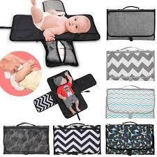 Waterproof Baby Changing Mat <b>Portable</b> Diaper Travel Table ...