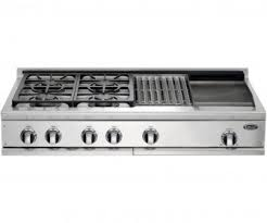 gas stove top with griddle. 6 Burner Gas Cooktop With Griddle Stove Top