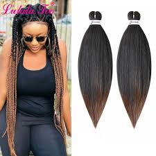 Ombre Braiding Hair Color Chart 26inch Pre Stretched Ombre Braiding Hair Jumbo Braid Hair