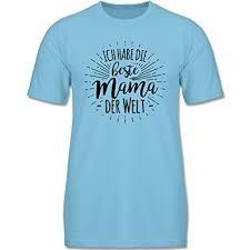 Sprüche Kind Ich Habe Die Beste Mama Der Welt Jungen T Shirt