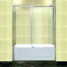 creative glass shower doors cost bath bathtub door image of ideas