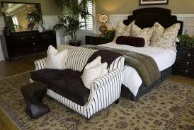 couch bedroom sofa: like the above bedroom this one places the loveseat at the foot of the bed
