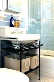 under pedestal sink storage cabinet pedestal sink storage sink storage full image for pedestal sink storage