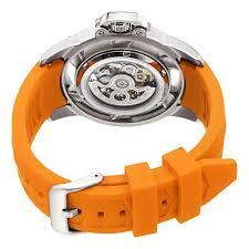 stuhrling xtreme men s 309i 331f17 impulse xt automatic skeleton stuhrling xtreme men s 309i 331f17 impulse xt automatic skeleton orange watch