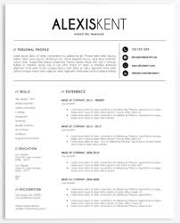 40 Resume Templates For International Education Rockstars INSIDE Adorable Resume Education
