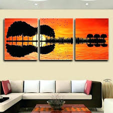 wall canvases wall canvases stunning guitar sunset digital print 3 piece art canvases to hang on wall canvases garden wall art