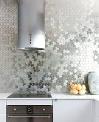unique wallcovering unique stainless steel puzzle wall covering instead of a kitchen unique wall covering ideas