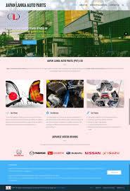 lanka auto parts project description