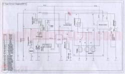 buyang atv wiring diagram  buyang atv 110 wiring diagram