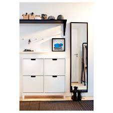 Stall Shoe Cabinet With 4 Compartments Ikea