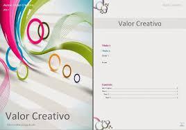 Valor Creativo Plantillas Word 2003 2007 2010 Y 2013