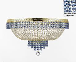 to enlarge 100 crystal chandelier this flush empire chandelier