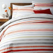 discover the range of colorful bedding and textiles from west elm including striped duvets