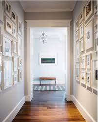 picture frame hallway