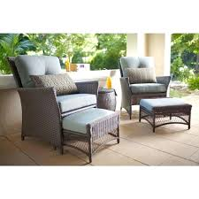 hampton bay patio set bay eucalyptus patio dining side chairs 2 pack bay bar height patio