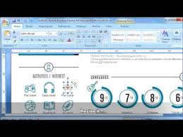 How To Replace Icon On Resume Template In Microsoft Word - #2 Of 11 ...