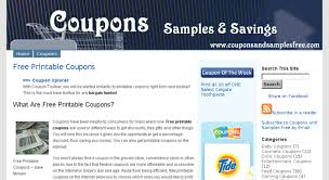 Free Print Coupons Access Couponsandsamplesfree Com Free Printable Coupons