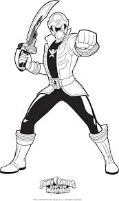 Power Rangers Dino Thunder Coloring Pages Unparalleled Charge Red