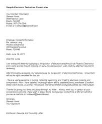 Gallery Of Electronic Cover Letter Format Best Template Collection
