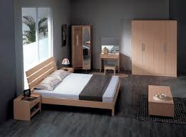Awesome Simple Apartment Bedroom Decor With Nice Furnishing Living