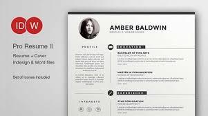 Adobe Resume Template Adobe Illustrator Resume Template Sample Resume Cover  Letter Format Free