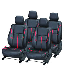 elaxa black leather seat cover for maruti alto k10 elaxa black leather seat cover for maruti alto k10 at low in india on snapdeal