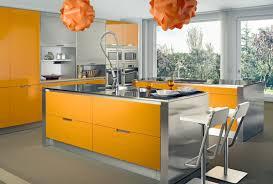 Orange And Yellow Kitchen Design Your Own Kitchen Using White Theme With White Maple Wood