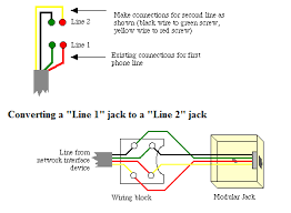 dsl phone jack wiring diagram wiring diagram and schematic design doing your own telephone wiring