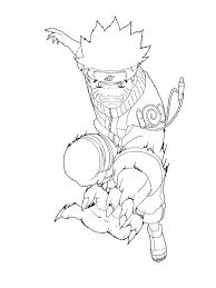 Coloring Pages Of And Naruto Sheets Printables Enigmatikco