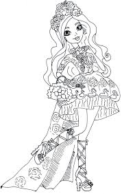 Free Printable Ever After High Coloring