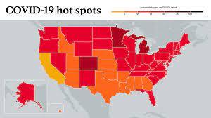 U.S. Coronavirus Map: Tracking the ...