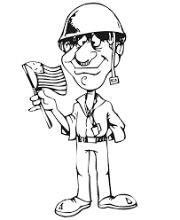 Soldier Coloring Pages For Kids Free Printable Coloring Pages