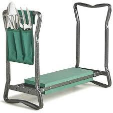 vonhaus folding portable garden kneeler