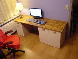 Materials: Faktum, Rationell Description: Because I couldn't find a computer  desk