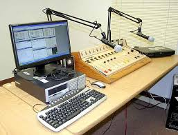 office radio. Studio 1 - Atlantis Internet Radio Network Aurora, IL Office R