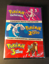 Pokemon Triple Movie Collection Movies 1-3 UK IMPORT for sale online