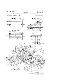 patent us2681542 self propelled combine header and feeder gleaner combine manuals at Wiring Diagram For M2 Gleaner Combine