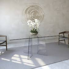 all glass dining room table. curved glass dining room table all i