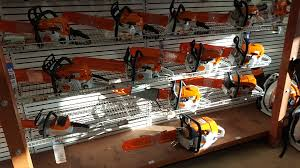 visit four seasons small engine in escanaba to find good deals on stihl chainsaws