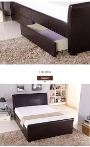 Wooden Double Bed With Drawer Designs New Modern Bedroom Furniture Wood Double Bed Designs With Box Drawers Buy Wood Double Bed Designs With Box Bed Room Furniture Modern Bed Design