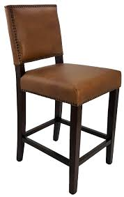 leather counter stool antique brown 55 of 388 save 72