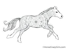 Horses Coloring Page Printable Coloring Pages Of Realistic Horses