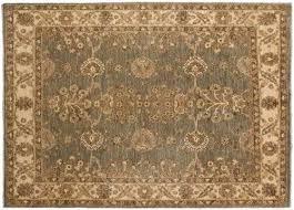 grey oriental rug faded
