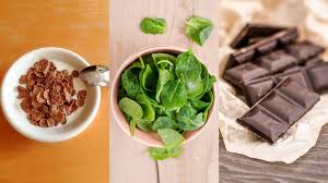 Foods High In Iron Clams Dark Chocolate White Beans And