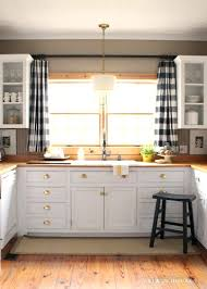 kitchen window over sink curtain impressive above kitchen window decor best intended for farmhouse curtains remodel