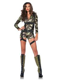 Army girl halloween costumes