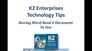 Text Document Having Word Read A Document To You