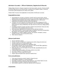 Academic Advisor Resume Examples Resume Profile Of Resume 24