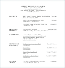 Medical Template Word Doctor Cv Physician Resume