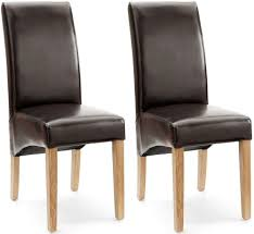 originals fn brown faux leather dining chair with brown faux leather dining chairs uk